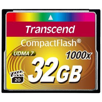 Карта памяти Transcend CF 32GB 1000X TS32GCF1000