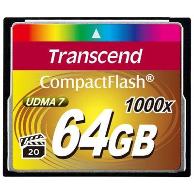 ����� ������ Transcend CF 64GB 1000X TS64GCF1000