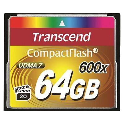 Карта памяти Transcend CF 64GB 600X TS64GCF600