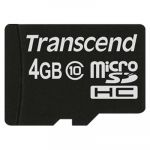 Карта памяти Transcend 4GB microSDHC Class 10 TS4GUSDC10