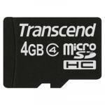 ����� ������ Transcend 4GB microSDHC Class 4 TS4GUSDC4