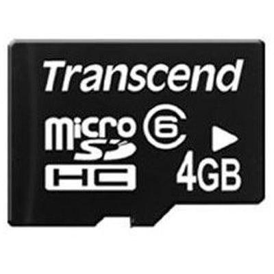 Карта памяти Transcend 4GB microSDHC Class 6 TS4GUSDC6