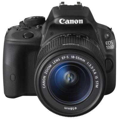 Зеркальный фотоаппарат Canon EOS 100D Kit EF-S 18-55 IS STM [8576B005]