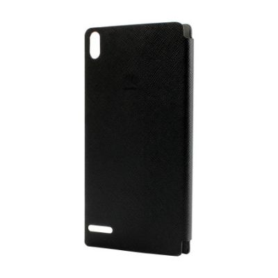 ����� Huawei ��� Ascend P6 EDGE_Leather Case(Black)