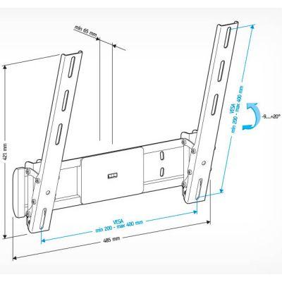 """Крепление Holder для 32-65"""" LCD-T4612-B"""