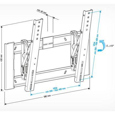 """Крепление Holder для 32-65"""" LCD-T4608-B"""