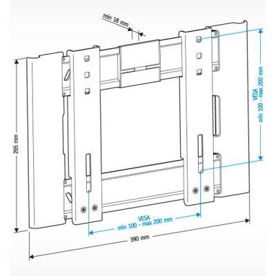 """Крепление Holder для 22-47"""" LCD-F2606-B"""
