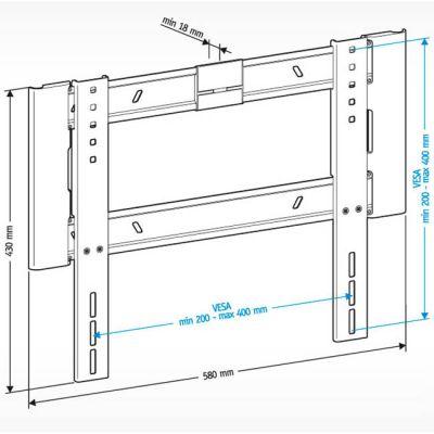 """Крепление Holder для 32-65"""" LCD-F4607-B"""