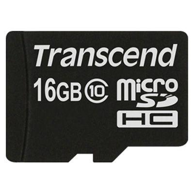 ����� ������ Transcend 16GB microSDHC Class 10 TS16GUSDC10