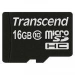 Карта памяти Transcend 16GB microSDHC Class 10 TS16GUSDC10
