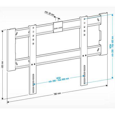"""��������� Holder ��� 42-65"""" LCD-F6604-B"""