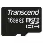 ����� ������ Transcend 16GB microSDHC Class 4 TS16GUSDC4