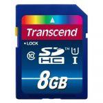 ����� ������ Transcend 8GB SDHC Class 10 UHS-1 Premium TS8GSDU1