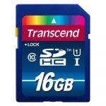 Карта памяти Transcend 16GB SDHC Class 10 UHS-1 Premium TS16GSDU1