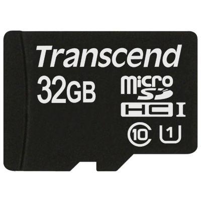 Карта памяти Transcend 32GB microSDHC Class 10 UHS-1 TS32GUSDCU1