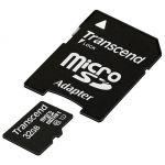 ����� ������ Transcend 32GB microSDHC Class 10 UHS-1 (SD �������) TS32GUSDU1
