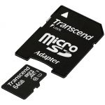 ������ Transcend 64GB microSDHC Class 10 TS64GUSDU1