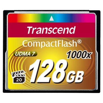 ������ Transcend 128GB CF Ultra Speed 1000X TS128GCF1000