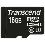 ����� ������ Transcend 16GB MicroSDHC Class10 TS16GUSDCU1