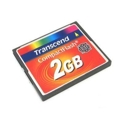 Карта памяти Transcend CF 2GB 133X TS2GCF133