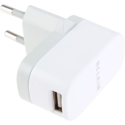 ������� ������� Belkin MICRO AC 1A WALL CHARGER ��� iPhone/ iPod F8Z884cw04