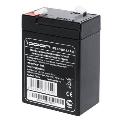 Аккумулятор Ippon IP6-4.5 6V/4.5Ah