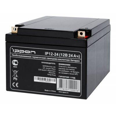 Аккумулятор Ippon IP12-24 12V/24Ah