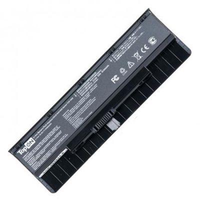 Аккумулятор TopON для ноутбука Asus N46, N56, N76, 4400mAh, 11.1V TOP-N56