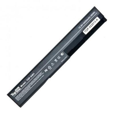 Аккумулятор TopON для ноутбука Asus X301, X301A, X301U, X401, X401A, X401U, X501, X501A, X501U, 4400mAh, 10.8V TOP-X401