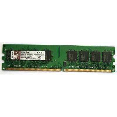 Оперативная память Kingston DIMM 1GB 667MHz DDR2 Non-ECC CL5 KVR667D2N5/1G