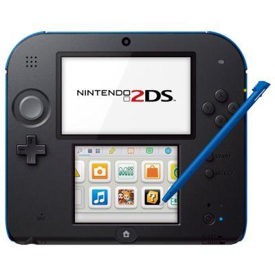 Игровая приставка Nintendo 2DS (Black & Blue)
