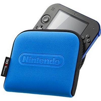 Чехол Nintendo для 2DS Pouch (Black + Blue)