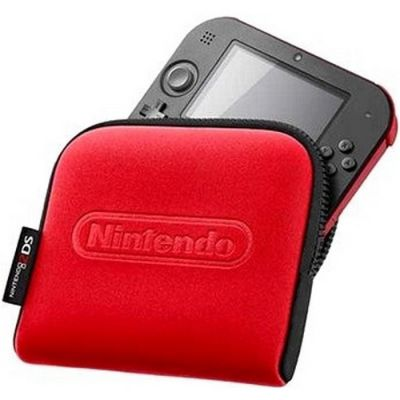 ����� Nintendo ��� 2DS Pouch (Black + Red)