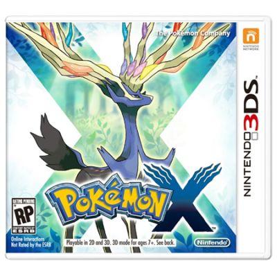 Игра для Nintendo (3DS) Pokemon X