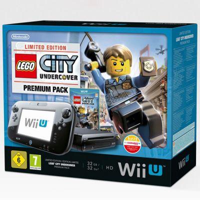 Игровая приставка Nintendo WiiU Premium Pack HW + Lego City Undercover
