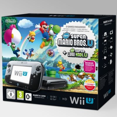 ������� ��������� Nintendo WiiU Premium Pack HW + Mario & Luigi