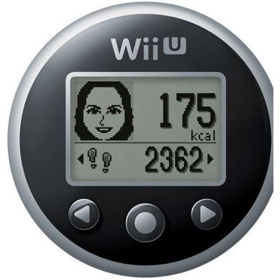 Nintendo шагомер WiiU Fitmeter (Black)