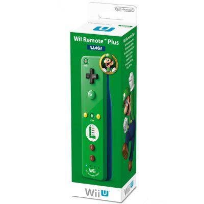 Nintendo беспроводной датчик движения для WiiU Remote Plus Luigi Edition