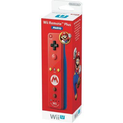Nintendo беспроводной датчик движения для WiiU Remote Plus Mario Edition