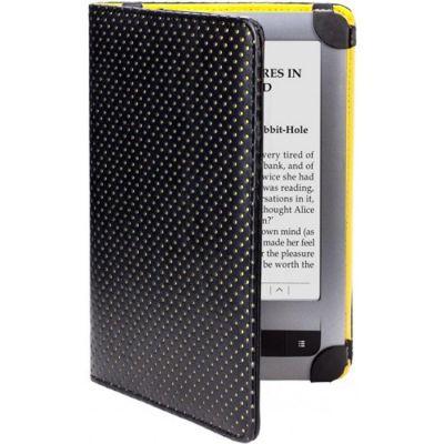 Чехол PocketBook для E-book 622/623 черный-желтый PBPUC-623-YL-DT