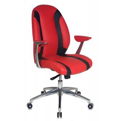 Офисное кресло Бюрократ руководителя Red/Black _MIO-LOW/RED+BL