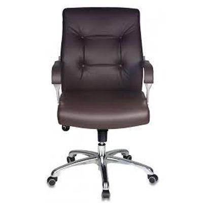 Офисное кресло Бюрократ Руководителя _BOSS-LOW/BROWN