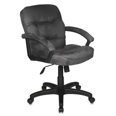 Офисное кресло Бюрократ руководителя (серая микрофибра MF110, низкая спинка) T-9908AXSN-Low/MF110