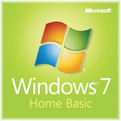 Программное обеспечение Microsoft Windows Home Basic 7 SP1 32-bit Russian CIS and Georgia 1pk DSP OEI DVD LCP F2C-01530