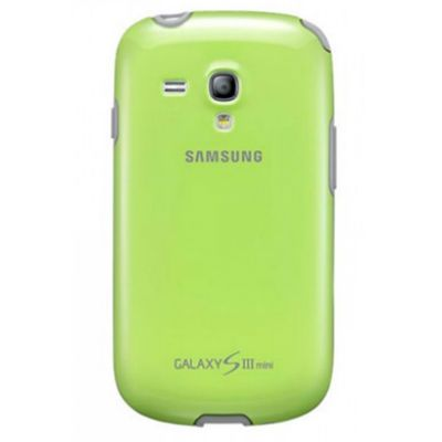 Чехол Samsung Protective Cover+ S3 mini/I8190 Green EFC-1M7BGEGSTD