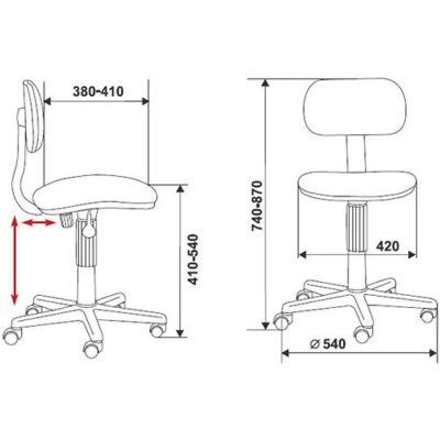 Офисное кресло Бюрократ детское (69285) CH-201NX
