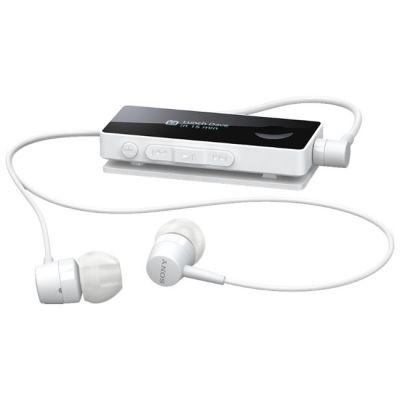 Гарнитура Sony SBH50 Bluetooth с поддержкой NFC с функцией HD Voice + FM радио White