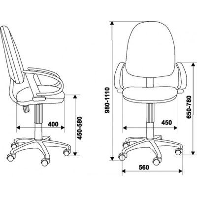 Офисное кресло Бюрократ офисное (69324) CH-300AXSN