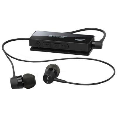 Гарнитура Sony SBH50 Bluetooth с поддержкой NFC с функцией HD Voice + FM радио Black
