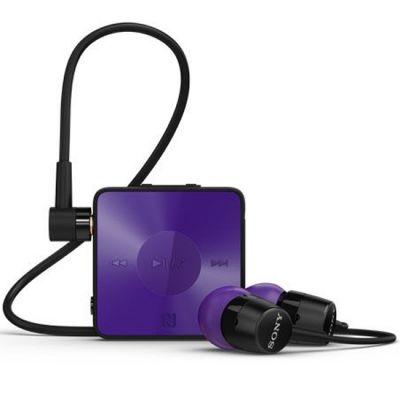 Гарнитура Sony SBH20 Bluetooth с поддержкой NFC и функцией HD Voice Фиолетовая